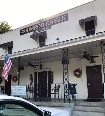 A View of the Himrod Eagle Restaurant from the Outside